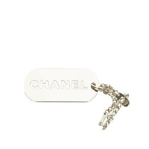 Chanel Sleutelhanger zilver Metaal