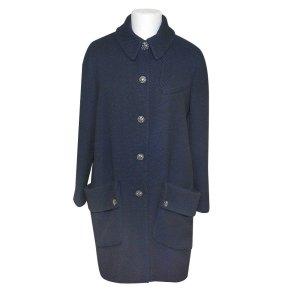 Chanel Mantel, Kurzmantel, aus Wolle und Seide
