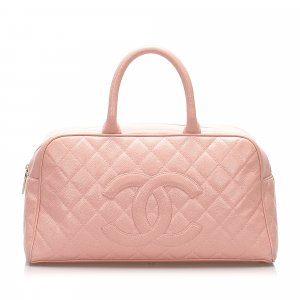 Chanel Handbag light pink leather