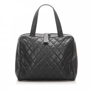 Chanel Matelasse Caviar Leather Handbag