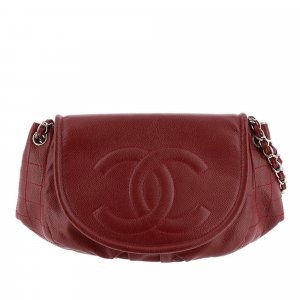 Chanel Matelasse Caviar Leather Shoulder Bag