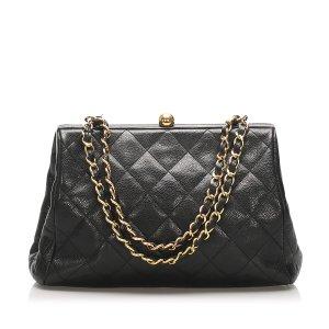 Chanel Matelasse Caviar Leather Shoulder Bag