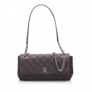 Chanel Matelasse CC Caviar Single Flap Bag