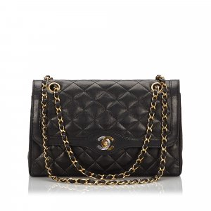 Chanel Matelasse Double Flap Shoulder Bag