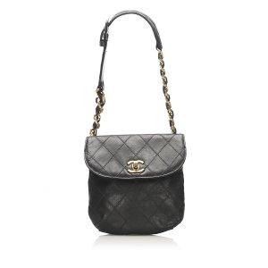 Chanel Matelasse Lambskin Leather Belt Bag