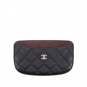 Chanel Matelasse Lambskin Leather Coin Pouch