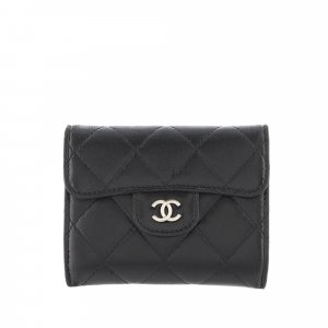 Chanel Matelasse Lambskin Leather Coin Purse