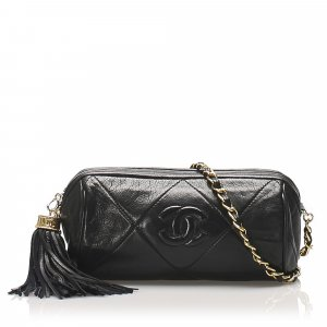 Chanel Matelasse Lambskin Leather Crossbody Bag
