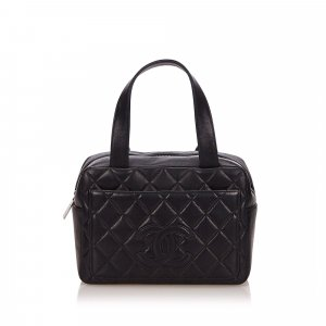 Chanel Matelasse Lambskin Leather Handbag