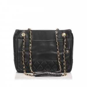 Chanel Matelasse Lambskin Leather Shoulder Bag