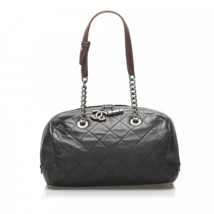Chanel Matelasse Lambskin Leather Shoulder Bag