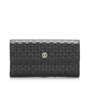Chanel Portefeuille noir cuir