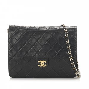 Chanel Matelasse Leather Flap Shoulder Bag