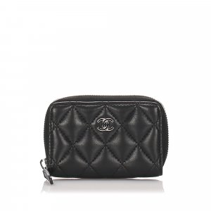 Chanel Matelasse Leather Small Wallet