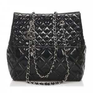 Chanel Matelasse Patent Leather Shoulder bag