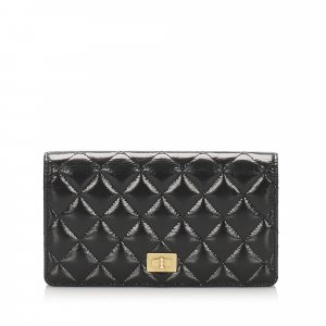 Chanel Matelasse Reissue Bifold Long Wallet