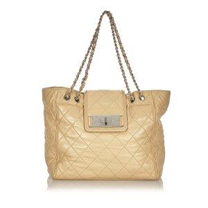 Chanel Matelasse Reissue East West Tote Bag