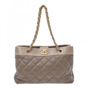 Chanel Matrasse ChainTote Bag Grege