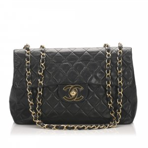 Chanel Maxi Classic Lambskin Single Flap Bag