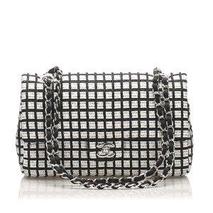 Chanel Medium Canvas Chain Double Flap Bag