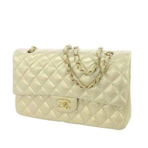 Chanel Medium Classic Lambskin Leather Double Flap Bag
