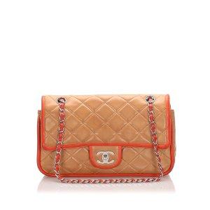 Chanel Medium Lambskin Double Flap Bag