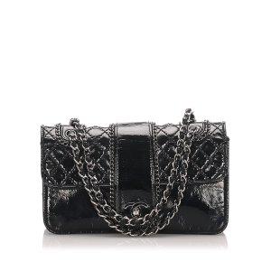 Chanel Medium Madison Patent Leather Flap Bag