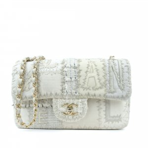 Chanel Medium Tweed Patchwork Flap Bag