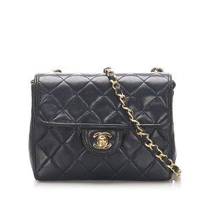 Chanel Mini Square Classic Lambskin Leather Single Flap Bag