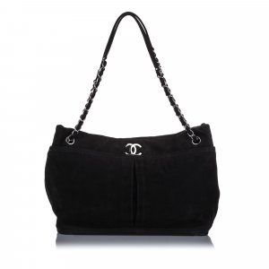 Chanel Natural Beauty Nubuck Shoulder Bag