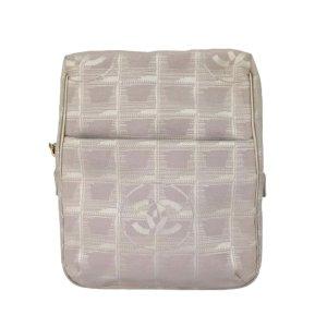 Chanel New Travel Line Canvas Crossbody Bag