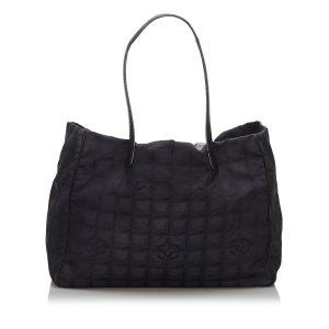 Chanel New Travel Line Canvas Handbag