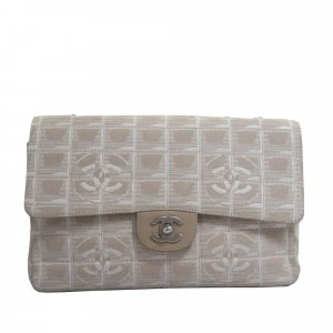 Chanel New Travel Line Classic Canvas Flap Bag