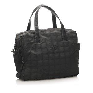 Chanel Satchel zwart Nylon