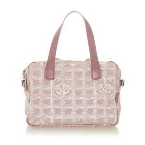 Chanel Satchel light pink nylon