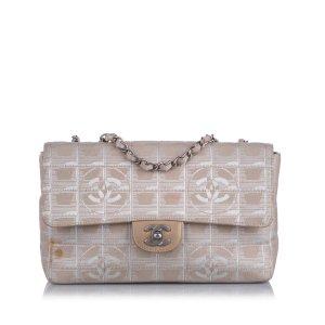 Chanel New Travel Line Nylon Shoulder Bag
