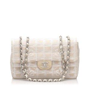 Chanel New Travel Line Nylon Single Flap Bag