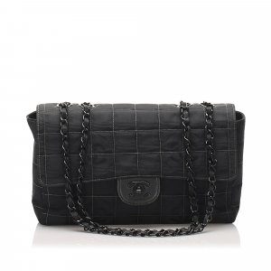 Chanel New Travel Line Nylon Single Flap Bag