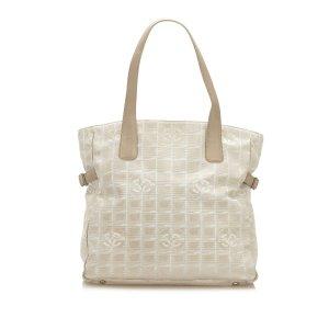 Chanel Tote white nylon