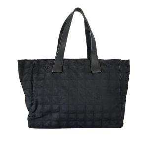 Chanel Tote zwart Nylon