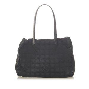 Chanel Torebka typu tote czarny Nylon