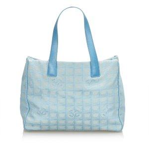 Chanel Tote lichtblauw