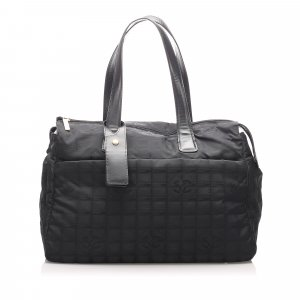 Chanel Bolso de viaje negro