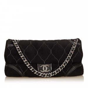 Chanel Nubuck Leather Flap