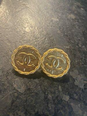 Chanel Orecchino a vite oro Metallo