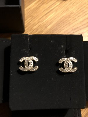 Chanel Ear stud gold-colored-silver-colored