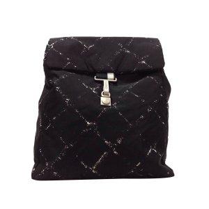 Chanel Rugzak zwart Nylon