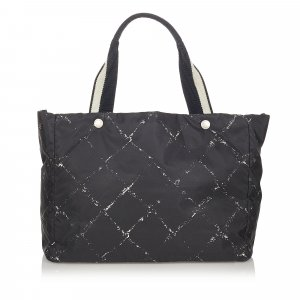 Chanel Tote black nylon