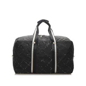 Chanel Old Travel Line Nylon Travel Bag