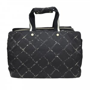Chanel Travel Bag black nylon